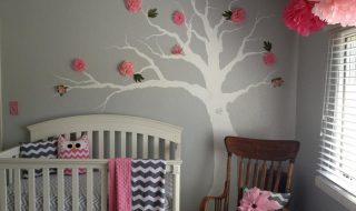 5 idées de chambres pour bébé qui voient la vie en rose et gris