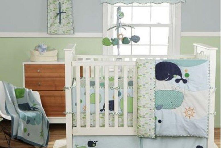 6 id es pour d corer la chambre de b b comme sous l 39 oc an - Decorer la chambre de bebe ...