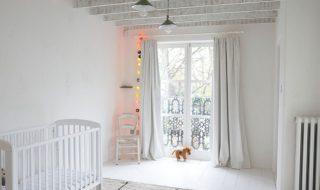 6 idées pour transformer la chambre de bébé en un cocon tout blanc