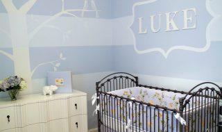 5 idées pour décorer la chambre de bébé d'un bleu tout doux