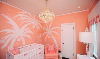 5 idées pour donner un coup de peps couleur corail à la chambre de bébé