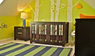 5 inspirations chaleureuses et boisées pour décorer la chambre de bébé