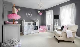 6 idées pour décorer la chambre de bébé avec un gris tout doux
