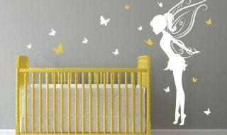 7 inspirations de chambres de bébé pétillantes en jaune et gris
