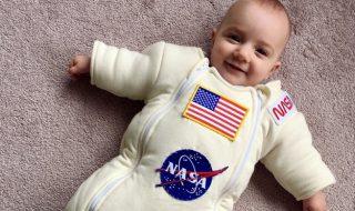 Grâce à ce super papa, on a trouvé le plus mignon des costumes d'astronaute !