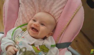 On vous met au défi de ne pas rire devant cette compilation de fous rires de bébés !
