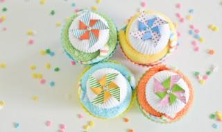 DIY : des cupcakes «mini chaussettes» pour une baby shower