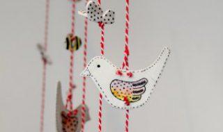 Comment fabriquer un mobile de petits oiseaux pour bébé ?