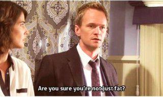 «Je suis enceinte» (vous)… «Tu es sûre que tu n'as pas juste grossi» (feu votre ami)