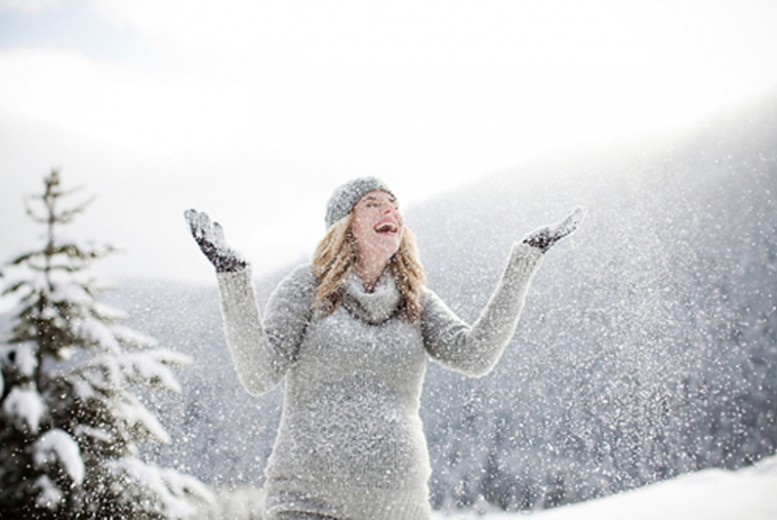 Veste de ski pour femme enceinte