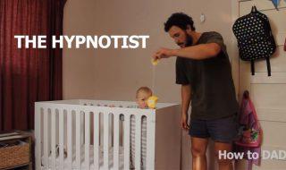 12 astuces de papa hilarantes pour endormir bébé