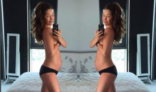 Accusée d'avoir un ventre trop petit pour 27 semaines de grossesse, ce mannequin se fait lyncher sur les réseaux sociaux