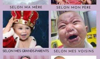Etre un bébé selon….