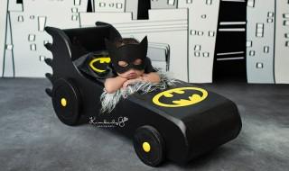 Attention voilà mini Batman !