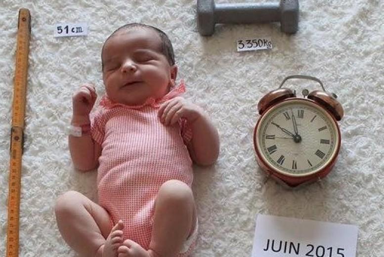 Super Un faire-part de naissance fait-main et super chouette - Neufmois.fr TG06