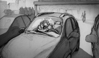 Après la fausse couche de sa femme, ce papa réalise un dessin poignant pour parler d'un sujet difficile