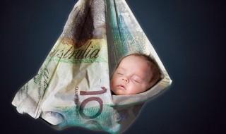 Faut-il être riche pour avoir un bébé?