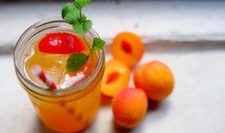 Recette : Frappé vitaminé et fruité à l'abricot sans alcool