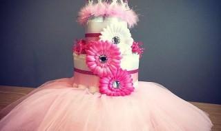 Un gâteau de naissance pour une belle princesse !