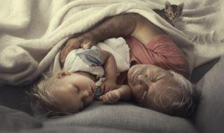 On adore ces photos qui célèbrent ce lien si précieux entre grands-parents et petits-enfants