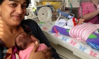 Une opération in utero réussie sur deux jumelles