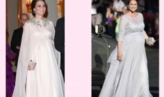 Kate Middleton VS Madeleine de Suède, choisissez votre look de grossesse préféré !