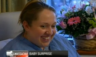 Elle apprend sa grossesse le jour de son accouchement