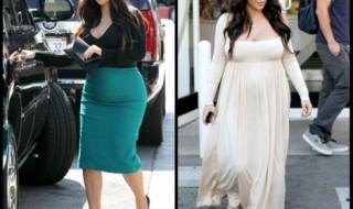 Kim Kardashian, la people enceinte qui nous fait du bien