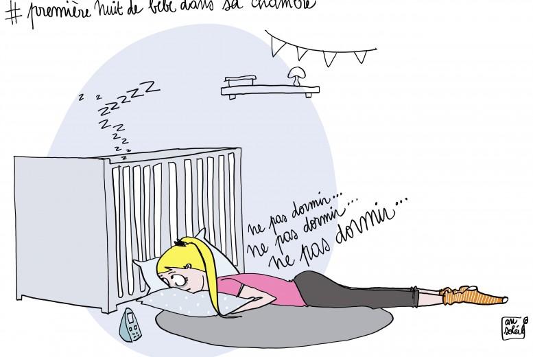 Quand bébé dormira la première fois seul dans sa chambre - Neufmois.fr