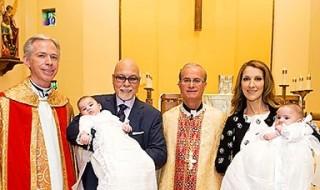 Les jumeaux de Céline Dion baptisés à Las Vegas !