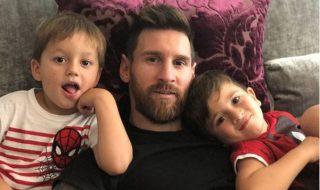 Lionel Messi est papa d'un troisième petit garçon
