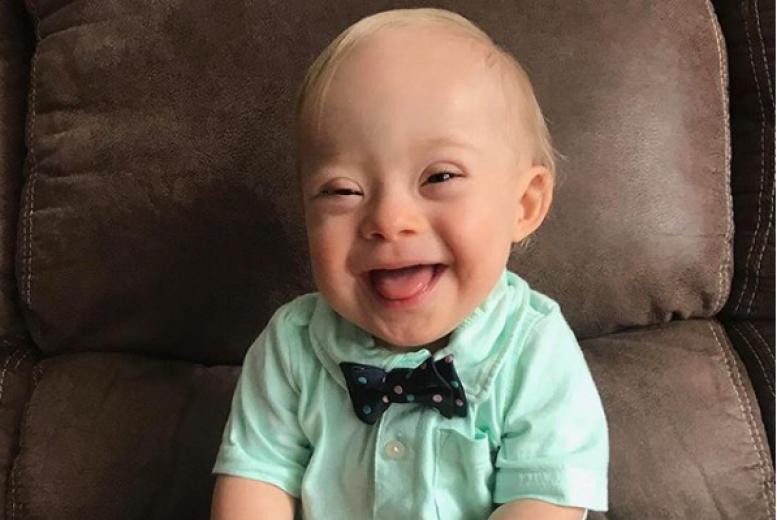 Le bébé Gerber 2018 est le 1er avec le syndrome de Down