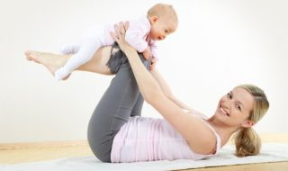 Ma séance de yoga avec bébé