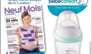 Votre magazine Neuf Mois n°149 dans les kiosques dès le 6 octobre !