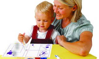 Avec Crayola, le dessin est à la portée de bébé !