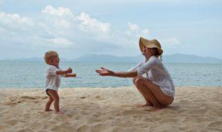 Maman en vacances : c'est du sport
