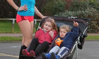 La joggeuse à la poussette, une maman pas comme les autres !