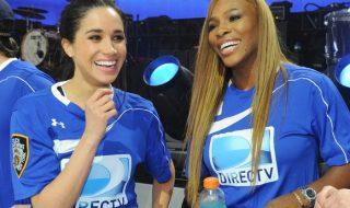 Serena Williams se confie sur la grossesse de son amie Meghan Markle