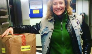 Pour aider la Banque de lait maternel de New York, un club de motardes assure les livraisons