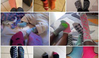 Journée Mondiale de la Trisomie 21 : toute la communauté Neuf Mois en chaussettes dépareillées !