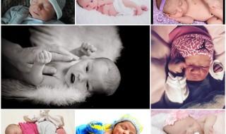 Nos bébés du mois de janvier 2016