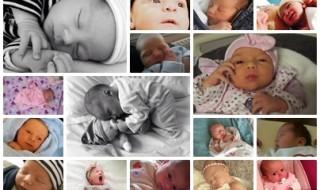 Nos bébés du mois de mars 2015