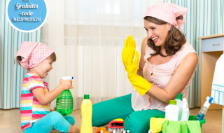 Le bon plan du moment Helpling : 2 heures de ménage gratuites !