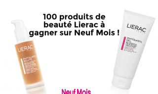 Jeu-concours : 100 super produits de beauté Lierac à gagner sur Neuf Mois rien que pour les futures mamans !