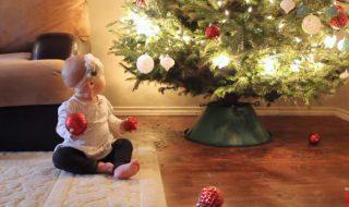 Quand préparer Noël avec bébé rime avec sécurité, on vous donne toutes les clés !