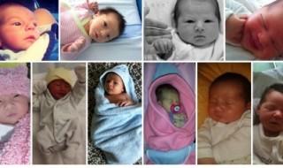 Nos bébés du mois d'octobre