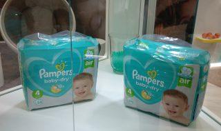 Les nouvelles couches innovantes de Pampers, pour la sécurité et le bien-être de bébé