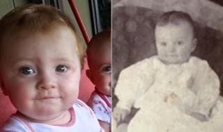 Ce bébé est le véritable sosie de son arrière-arrière-grand-père !