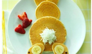 Mon «lapin-pancake» pour Pâques