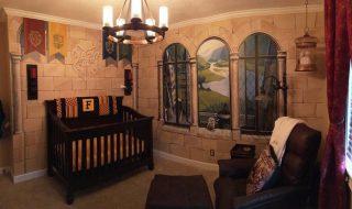 Harry Potter, c'est le thème magique que ces parents ont choisi pour décorer la chambre de bébé